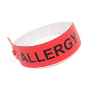 Allergy Alert Wristband